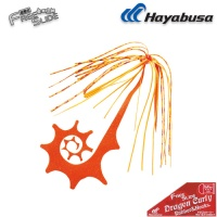 Hayabusa Free Slide Dragon Curly Rubber SE137 #15