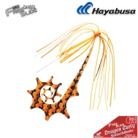 Hayabusa Free Slide DRAGON Curly Rubber & Hooks SE137