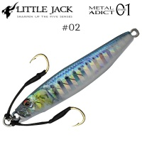 Little Jack - METAL ADICT 01 Jig 40g