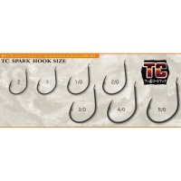 Shout TC Hard Twin Spark Assist Hooks 2cm