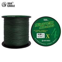 Sea Eagle Super Braid X4 Green 500m