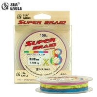 Sea Eagle Super Braid X8 Multicolor 150m