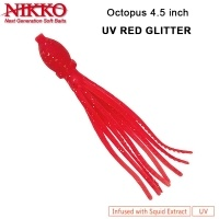Nikko Octopus 4.5 UV Red Glitter
