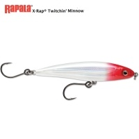 Rapala X-Rap Twitchin' Minnow Red Ghost 12cm
