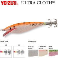 Yo-Zuri A327 Squid Jig ULTRA Cloth™ SS