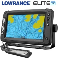Lowrance Elite-9 Ti2 with 3-в-1 transducer CHIRP | SideScan | DownScan