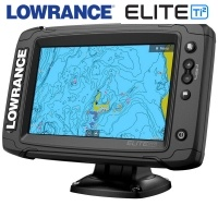 Lowrance Elite-7 Ti2 Chart Screen