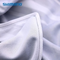 Shimano Anti-UV Hooded Long Sleeve Shirt BLUE