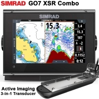 Сонар Simrad GO7 XSR + Active Imaging 3-in-1 Сонда