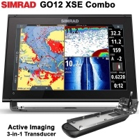 Сонар Simrad GO12 XSE + Active Imaging 3-in-1 Сонда