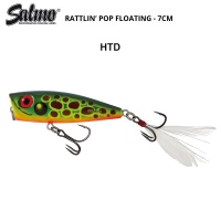 Salmo Rattlin Pop HTD | Hot Toad
