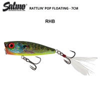 Salmo Rattlin Pop RHB | Red Hot Bluegill