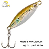 ILLEX Micro Slow Lazy Jig Aji Striped Holo