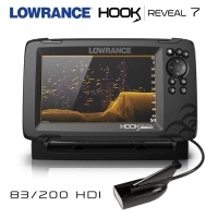 Lowrance Hook REVEAL 7 | Yellow Color Pallete