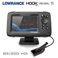 Lowrance Hook REVEAL 5 | 83/200 HDI | FishReveal