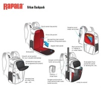 Раница Rapala Urban Backpack