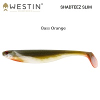Westin Shad Teez Slim Bass Orange