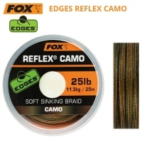Fox Edges Reflex Camo 20m | Плетен повод