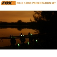 Комплект сигнализатори Fox Micron RX+ 3-Rod Presentation Set CEI157
