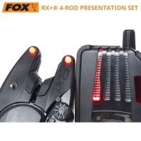 Комплект сигнализатори Fox Micron RX+ 4-Rod Presentation Set CEI158
