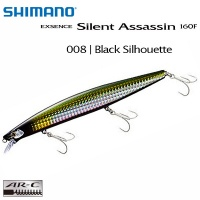 Shimano Exsence Silent Assassin 160F XM-116S | 008 | Black Silhouette