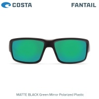 Слънчеви очила Costa Fantail | Matte Black | Green Mirror 580P | TF 11 OGMP