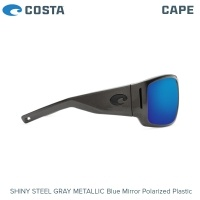 Слънчеви очила Costa Cape | Shiny Steel Gray Metallic | Blue Mirror 580P | CAP 199 OBMP
