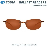 Costa Ballast | Tortoise | Copper 580P | Очила с диоптър