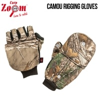 Carp Zoom Camou Rigging Gloves | Ръкавици