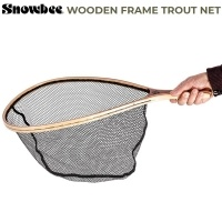 Мухарски Кеп Snowbee Wooden Frame Hand Trout Net