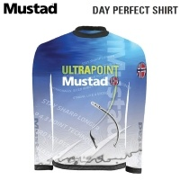 Mustad Day Perfect Shirt Tournament Blue MCTS03-BU