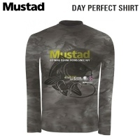 Mustad Day Perfect Shirt BBS Camo MCTS05-CM