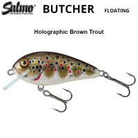 Salmo Butcher 5F | HBT 	Holographic Brown Trout