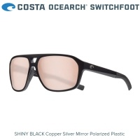 Слънчеви очила Costa OCEARCH® Switchfoot | Shiny Black | Copper Silver Mirror 580P | SWF 11OC OSCP