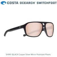 Costa OCEARCH® Switchfoot | Shiny Black | Copper Silver Mirror 580P | SWF 11OC OSCP