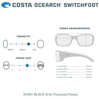 Costa Switchfoot | Size