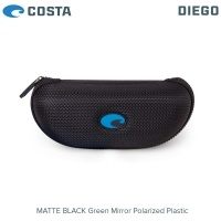 Слънчеви очила Costa Diego | Matte Black | Green Mirror 580P | DGO 11 OGMP