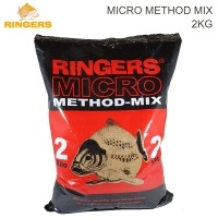 Ringers Micro Method Mix 2kg | Groundbait and Pellets
