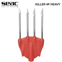 Seac Killer Red 4P Heavy | Връх за харпун