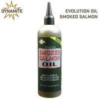 Dynamite Baits Evolution Oil 300ml | Liquid Attractant Smoked Salmon| DY1233