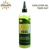 Dynamite Baits Evolution Oil 300ml | Liquid Attractant Tiger Nuts | DY1230