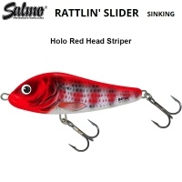 Воблер Salmo Rattlin Slider 8S | HRS Holo Read Head Striper