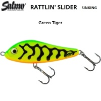 Воблер Salmo Rattlin Slider 8S | GRT Green Tiger