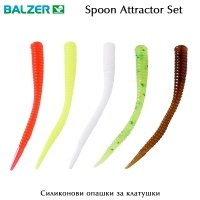 Balzer Spoon Attractor Set | Soft Tails for Spoons