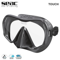 Seac Touch Black Diving Frameless Mask