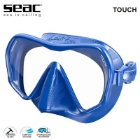 Seac Touch Blue Diving Frameless Mask