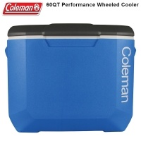 Хладилна чанта на колела Coleman 60QT Tri Color Performance Wheeled Cooler 36084