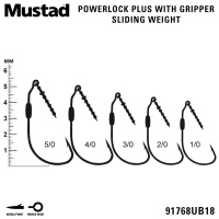 Mustad Power Lock Plus 91768UB18 | Размери