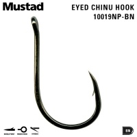 Mustad Ringed Chinu Hook 10019NP-BN