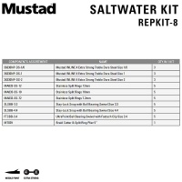 Mustad Saltwater Kit REPKIT-8 | Components